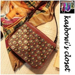 NWT Patricia Nash Rivoli Coin Crossbody/Dust Bag